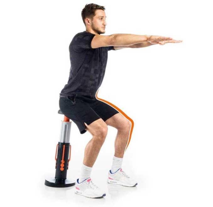 gymform squat perfect per allenarsi